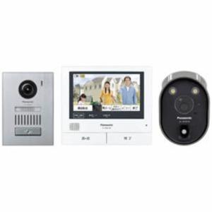 Panasonic ワイヤレスカメラ付テレビドアホン VL-SVH705KSC - 拡大画像