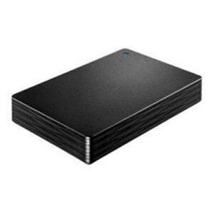 IOデータ 外付けHDD カクうす Lite ブラック ポータブル型 4TB HDPH-UT4DKR - 拡大画像