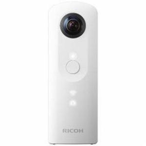 RICOH 全天球撮影カメラ 「THETA SC(シータ)」 ホワイト THETA-SC-WH - 拡大画像