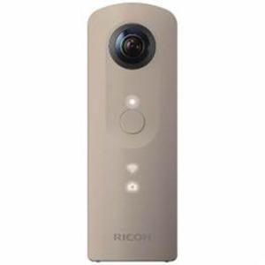 RICOH 全天球撮影カメラ 「THETA SC(シータ)」 ベージュ THETA-SC-BE - 拡大画像