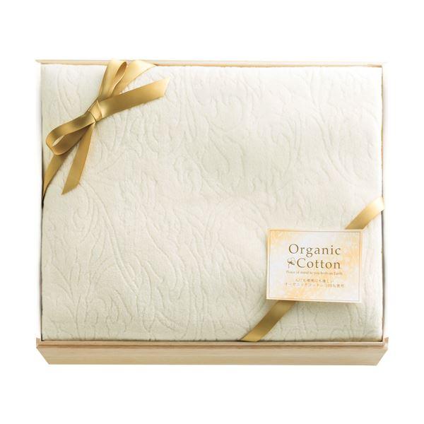 オーガニックコットン綿毛布(国産木箱入) C9134600