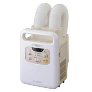 アイリスオーヤマ 布団乾燥機 ふとん乾燥機 カラリエ ツインノズル KFK-W1-WP
