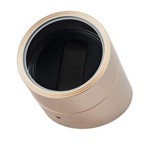 エスプリマ 丸型ワインディングマシーン シャンパンゴールド ES10301CG - 拡大画像