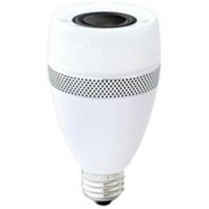 アイリスオーヤマ スピーカー機能付調光器非対応LED電球 「エコハイルクス」(全光束485lm/電球色相当・口金E26) LDF11L-G-4S - 拡大画像