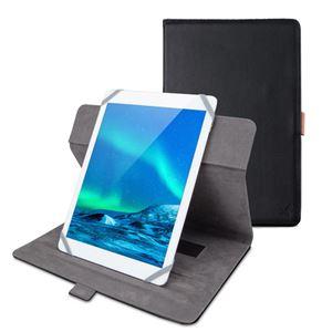 エレコム タブレット汎用ブックタイプケース/ソフトレザー/360度回転/8.5〜10.5inch/ブラック TB-10360BK - 拡大画像