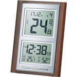 アデッソデジタル日めくり置掛兼用電波時計 B2120630 C8059034 C9059550