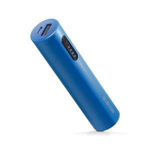 (まとめ)エレコム モバイルバッテリー/リチウムイオン電池/おまかせ充電対応/3200mAh/2.1A/ブルー DE-M04L-3200BU【×2セット】 - 拡大画像
