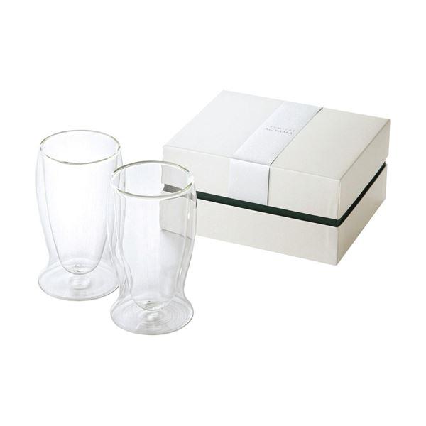 (まとめ)プルミエール・アオヤマ ニュイ ペアサーモグラス(N) C1153014【×2セット】