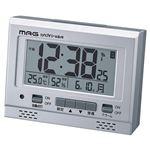 (まとめ)電波時計 エアサーチグッドライト K90310836【×2セット】