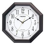 (まとめ)音の静かな八角時計 オクタゴン M80211518【×2セット】