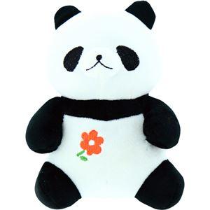 (まとめ)もちっとぐるみ パンダ C9079657【×2セット】 - 拡大画像