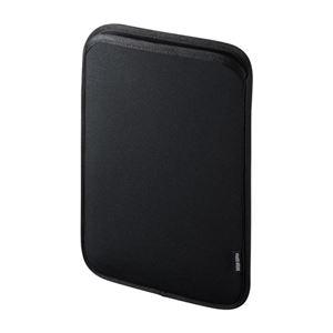 (まとめ)サンワサプライ ネオプレンスリップインタブレットPCケース(10.1型) PDA-TABS10BKN【×2セット】 - 拡大画像