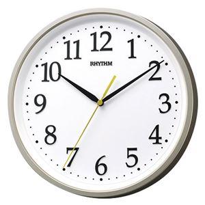 (まとめ)リズム クォーツ掛時計 M80110319【×2セット】 - 拡大画像