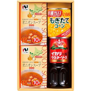(まとめ)オニオンスープ&調味料セット B4058590【×2セット】