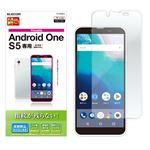 (まとめ)エレコム Android One S5/液晶保護フィルム/防指紋/反射防止 PY-AOS5FLF【×5セット】