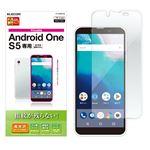 (まとめ)エレコム Android One S5/液晶保護フィルム/防指紋/高光沢 PY-AOS5FLFG【×5セット】