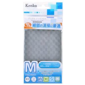 (まとめ)ケンコー・トキナー デジタル レンズクロス M グレー KEN01195【×5セット】