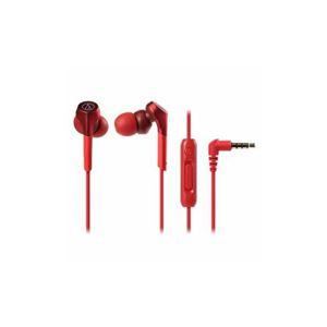 Audio-Technica ハイレゾ音源対応 スマートフォン用イヤホン レッド ATH-CKS550XiS-RD - 拡大画像