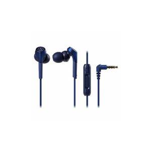Audio-Technica 【ハイレゾ音源対応】 スマートフォン用イヤホン ブルー ATH-CKS550XiS-BL - 拡大画像