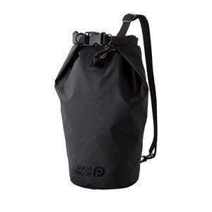 エレコム 防水・防塵バッグ ドライバッグ Lサイズ 10L ブラック P-WPBD10BK - 拡大画像
