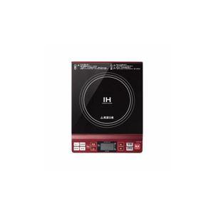 コイズミ IHクッキングヒーター レッド KIH-1402/R - 拡大画像