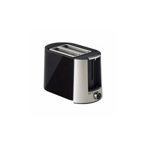 コイズミ ポップアップトースター ブラック KOS-0850/K - 拡大画像