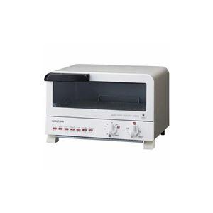 コイズミ オーブントースター ホワイト KOS1204-W - 拡大画像