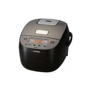 象印 小容量マイコン炊飯ジャー 3合炊き ブラック NL-BU05-BA - 拡大画像