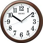 スタンダード電波掛時計 茶メタリック C1063020