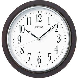 木枠電波掛時計 C1063079 - 拡大画像