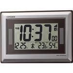 シチズン 温度・湿度表示ソーラー電源電波時計 C1062118