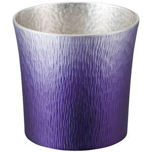 錫製タンブラー 310ml 紫(1客) 6156-058 - 拡大画像