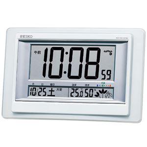 セイコー 電波掛置兼用時計 6211-029 - 拡大画像