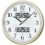 セイコー 電波掛時計 6211-083