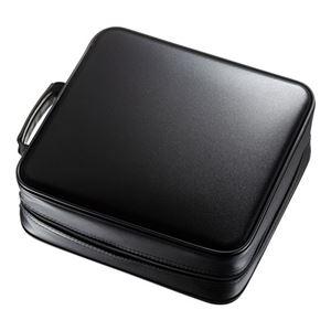 サンワサプライ ブルーレイディスク対応セミハードケース(320枚収納・ブラック) FCD-WLBD320BK - 拡大画像