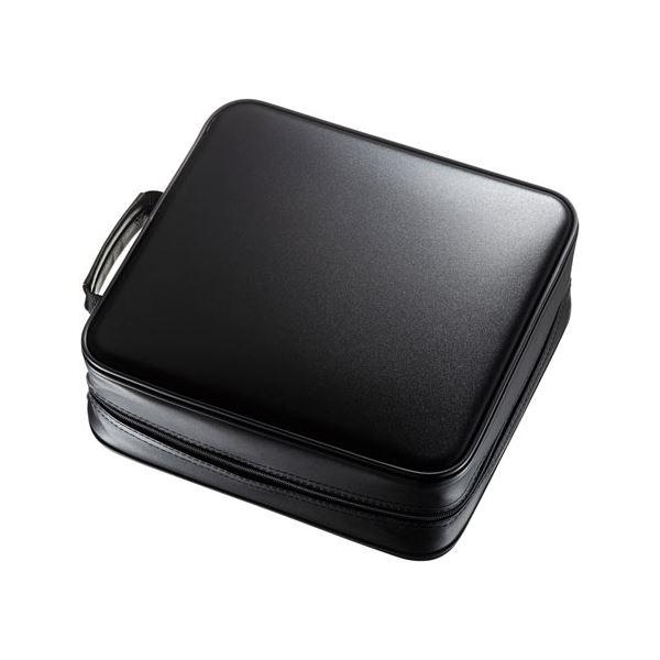 サンワサプライ ブルーレイディスク対応セミハードケース(320枚収納・ブラック) FCD-WLBD320BK