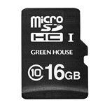 グリーンハウス ドライブレコーダー向けmicroSDHCカード 16GB GH-SDM-A16G