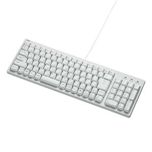 サンワサプライ コンパクトキーボード SKB-KG2WN2 - 拡大画像