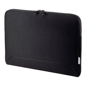 サンワサプライ MacBook用衝撃吸収インナーケース IN-MACFA16BK - 拡大画像