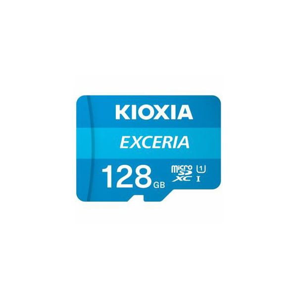 KIOXIA MicroSDカード EXERIA 128GB KMU-A128G