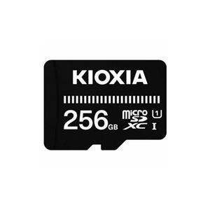 KIOXIA MicroSDカード EXERIA BASIC 256GB KMSDER45N256G - 拡大画像