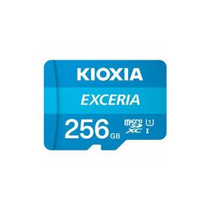 KIOXIA MicroSDカード EXERIA 256GB KMU-A256G - 拡大画像