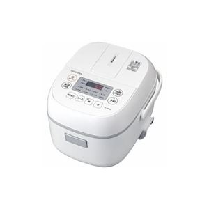 TOSHIBA マイコン炊飯器 3合炊き ホワイト RC-5MFM-W - 拡大画像