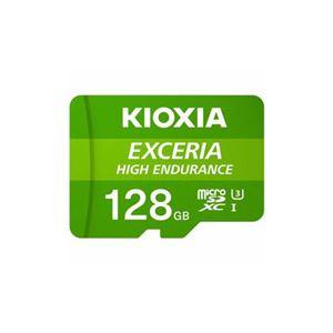 KIOXIA MicroSDカード EXCERIA HIGH ENDURANCE 128GB KEMU-A128G - 拡大画像