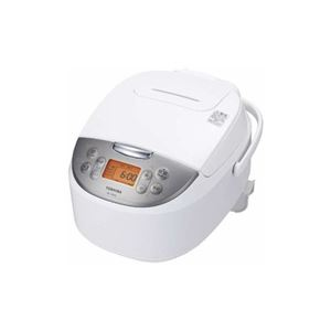 TOSHIBA マイコンジャー炊飯器(1升) ホワイト RC-18MSL-W - 拡大画像