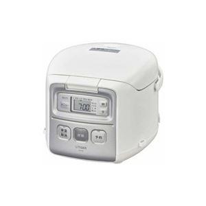 タイガー マイコン炊飯器 炊きたて 3合炊き ホワイト JAI-R552W - 拡大画像