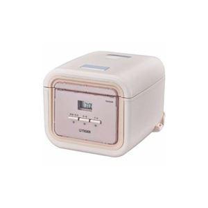 タイガー マイコン炊飯器 「炊きたて tacook」 3合炊き コーラルピンク JAJ-G550-PC - 拡大画像