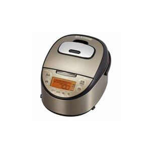タイガー魔法瓶 IH炊飯ジャー 炊きたて 5.5合 パールブラウン JKT-L100TP - 拡大画像