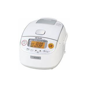象印 圧力IH炊飯器 極め炊き 3合炊き ホワイト NP-RM05-WA - 拡大画像