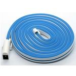 日本トラストテクノロジー USBネオンチューブライト 2m ブルー NEONLT2M-BL